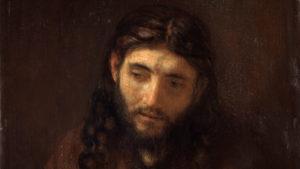 Rembrandt - tête du Christ