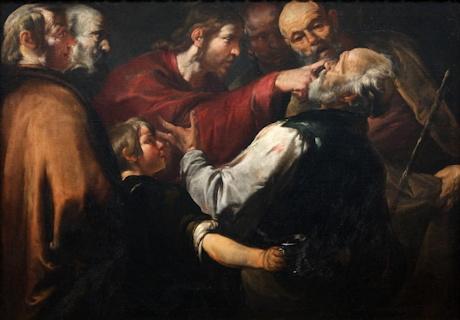 Jésus guérit un aveugle -