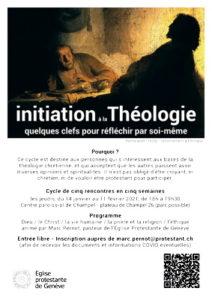 affiche du cycle de théologie