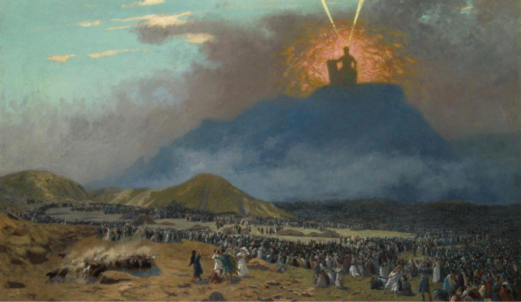 Moïse sur le mont Sinaî - Jean-Léon Gérôme (1895)